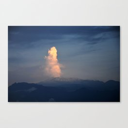 Nevado del Ruiz volcano Canvas Print