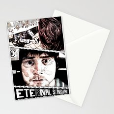 Eternal Sunshine of the Spotless Mind by Aaron Bir Stationery Cards