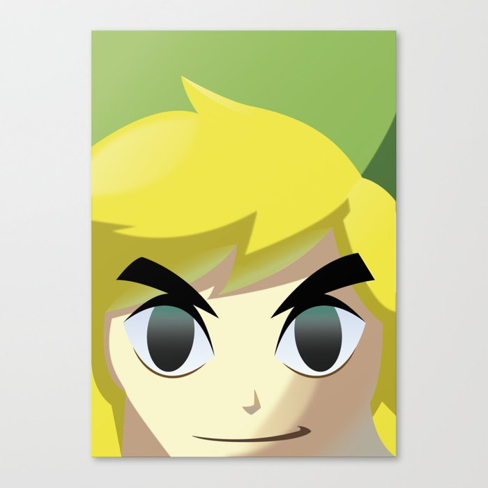 Toon Link Canvas Print