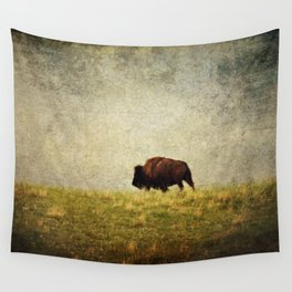 Lone Buffalo Wall Tapestry