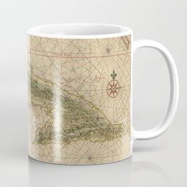 Vintage Map of Cuba (1639) Coffee Mug
