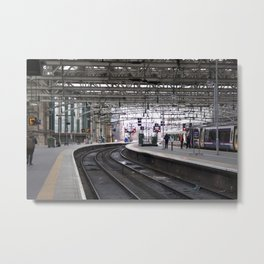 Glasgow Central Station Metal Print