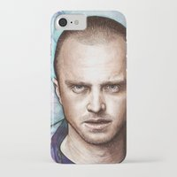 jesse pinkman iPhone & iPod Cases featuring Jesse Pinkman by Olechka