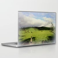 victorian Laptop & iPad Skins featuring Victorian Highlands by Chris' Landscape Images & Designs