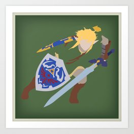 Link, He's BA (Legend of Zelda) Art Print
