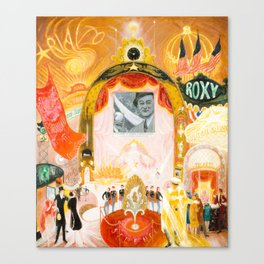The Cathedrals of Broadway by Florine Stettheimer, 1929 Canvas Print