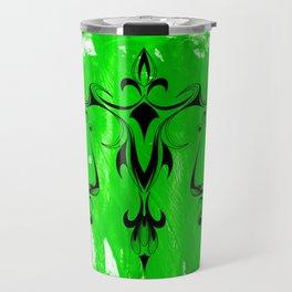 Libra Green Travel Mug