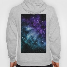Purple Teal Galaxy Nebula Dream #1 #decor #art #society6 Hoody