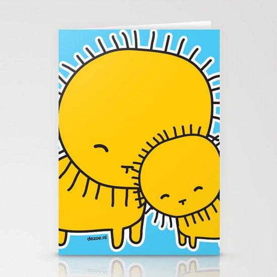Lion Hug Stationery Cards