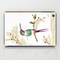 hummingbird iPad Cases featuring hummingbird by Ariadne