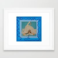 bride Framed Art Prints featuring Bride by Canson City