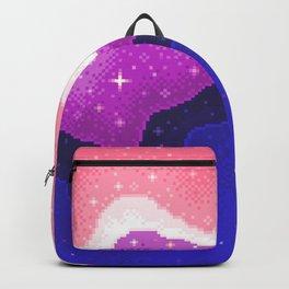 Genderfluid Pride Galaxy Backpack