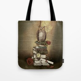 The Bibliophile - (the lover of books) Tote Bag