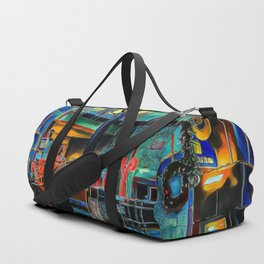 Holidays At The Airport - Graphic 1 Duffle Bag