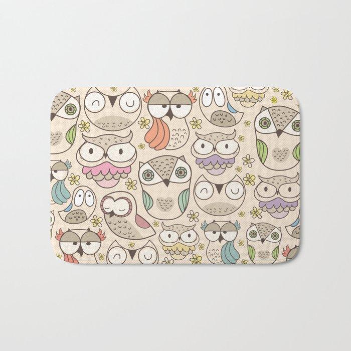 The owling Bath Mat
