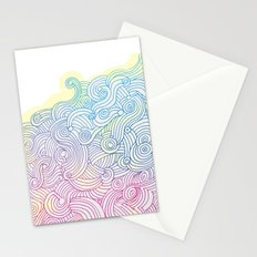 Swirling clouds in the heavens Stationery Cards