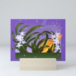 The Flowering of the Universe Mini Art Print