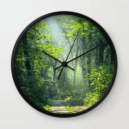 Woodland Glory Wall Clock