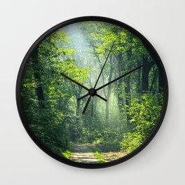 Woodland Glory Wall Clock