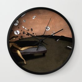SUNRISE WITH BROKEN PLATES (2004 version) Wall Clock
