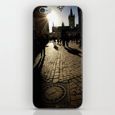 Trier Street Scene iPhone & iPod Skin