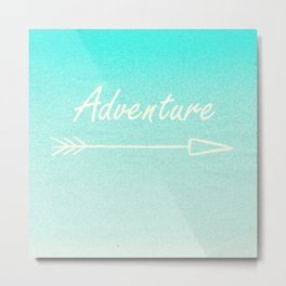 Adventure (this way) Metal Print