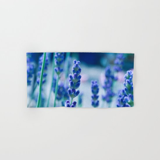 A Touch of blue - Lavender #1 Hand & Bath Towel