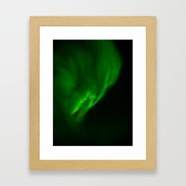 Screaming Aurora Framed Art Print