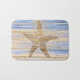 Starfish Beach Lake House Coastal Art A179 Bath Mat