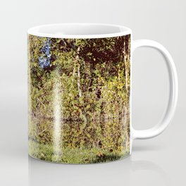Autumn Oxford Canal Reflections Coffee Mug