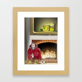 No.5 Christmas Series 1 - The Late Years Framed Art Print
