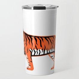 Bengal Tiger Full Body Mascot Travel Mug