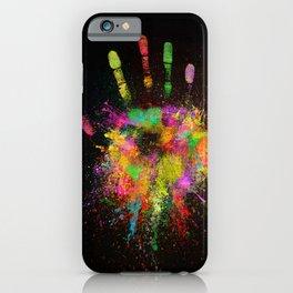 Artist Hand (1) iPhone Case