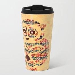 The Pattern Loris Metal Travel Mug