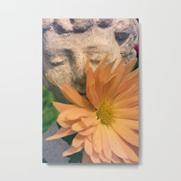 Chrysanthemum Boy Metal Print