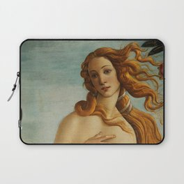 The Birth of Venus detail Laptop Sleeve