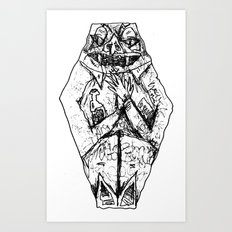 Coffin Creep Art Print