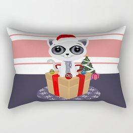 Christmas - Kitten Rectangular Pillow