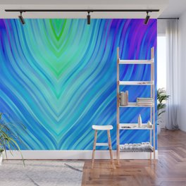 stripes wave pattern 3 s180i Wall Mural