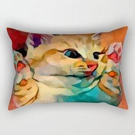 Kitten 2 Rectangular Pillow
