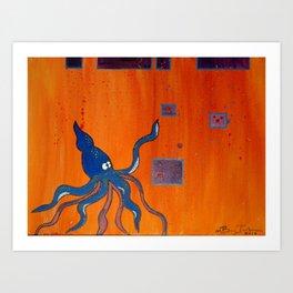 Levee Art Print