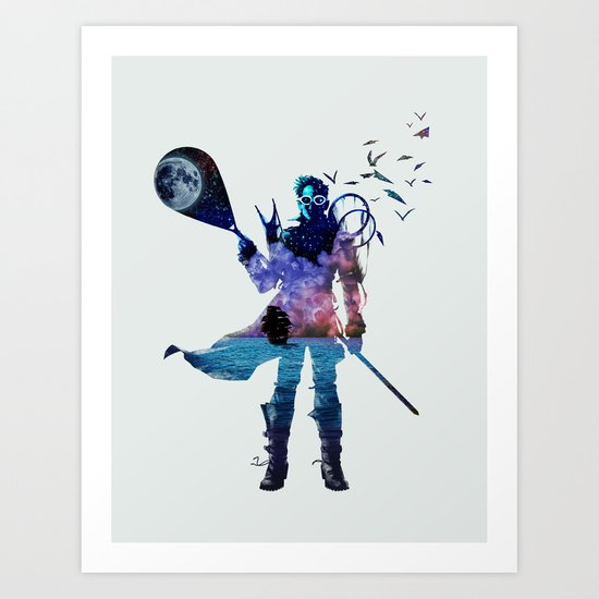 Dream Fisherman Art Print