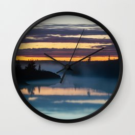 Mists of June Wall Clock