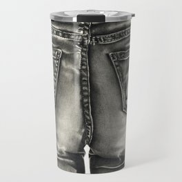 Jeans Travel Mug