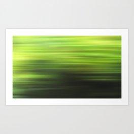 green 17 Art Print