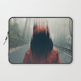 Face into the Abyss Laptop Sleeve