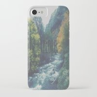 explore iPhone & iPod Cases featuring Explore by Hannah Kemp