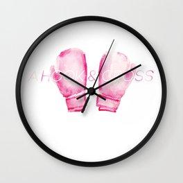 Hook&Cross Wall Clock