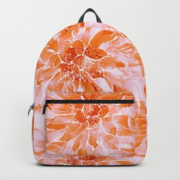 The Smell of Spring 3 / Monochrome / Apricot Backpack