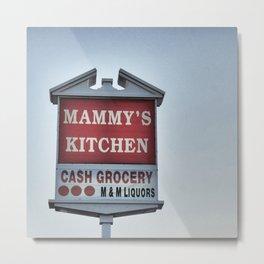 Mammy's Metal Print